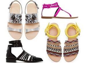 Zara — обзор летних сандалий