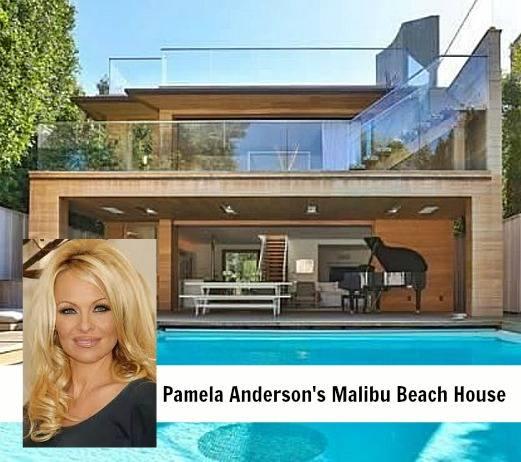Загородный дом Памелы Андерсон