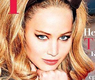 Дженнифер Лоуренс на обложке журнала Tatler