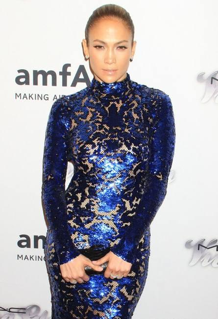 Дженнифер Лопес в платье от Тома Форда