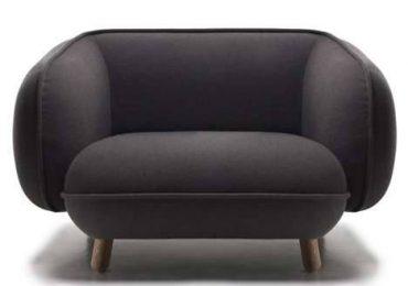 Как рационально использовать плюшевые круглые диваны для украшения интерьера
