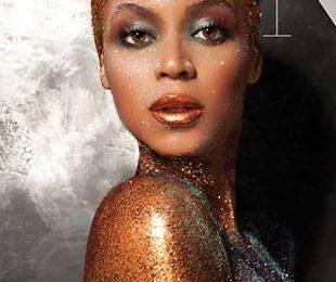 Сильно измененная Бейонсе на обложке журнала Flaunt
