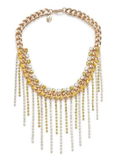 Большие ожерелья в этом сезоне иметь обязательно