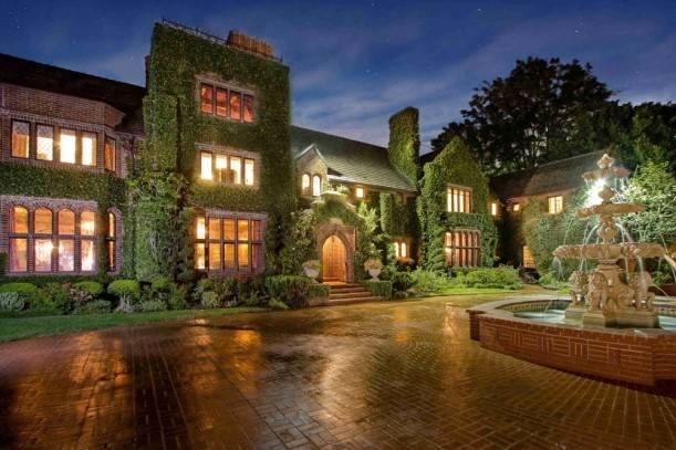 Дом в котором живет Николас Кейдж