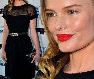 Сексуальное маленькое черное платье Кейт Босуорт