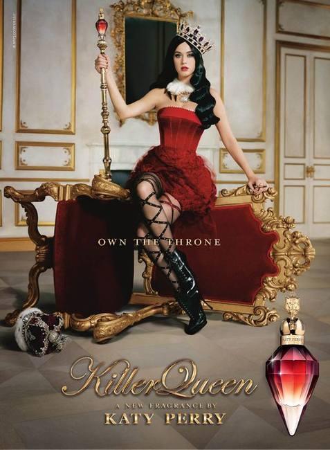 Killer Queen: новый аромат от Кэти Перри