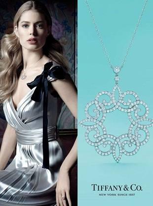 Крез, Мьюз и Лю Вэнь в кампании Tiffany & Co