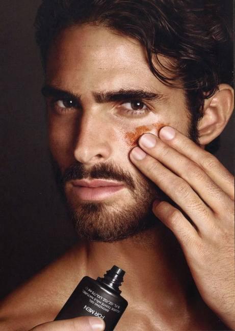 Хуан Бетанкур в красивой кампании Тома Форда