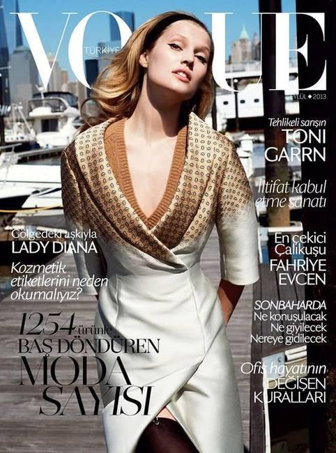 Тони Гаррн и Даутцен Крез в Vogue