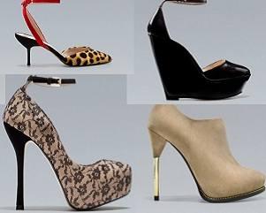В интернет-магазине Zara распродажа женских туфлей