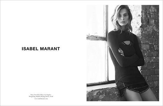 Дарья Вербова в кампании Isabel Marant зима 2014