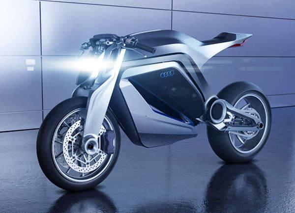 Роскошный гибрид автомобиля и мотоцикла