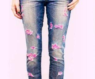 Несколько способов дать новую жизнь старым джинсам