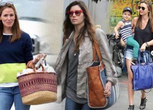 Городские сумки — что выбрали знаменитости?