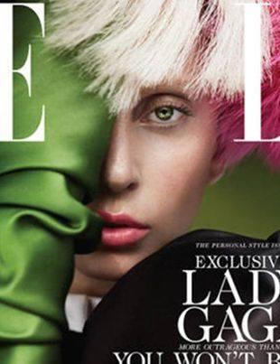 Леди Гага на обложке журнала Elle