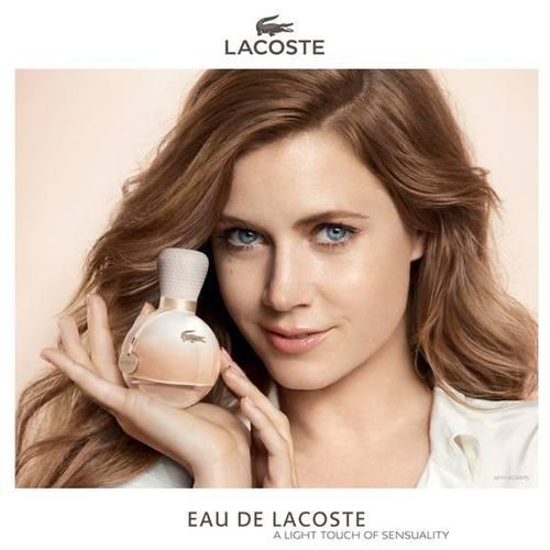 Эми Адамс в кампании парфюмерии Lacoste