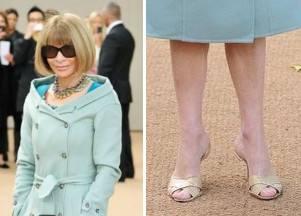 Анна Винтур одержима парой сандалий