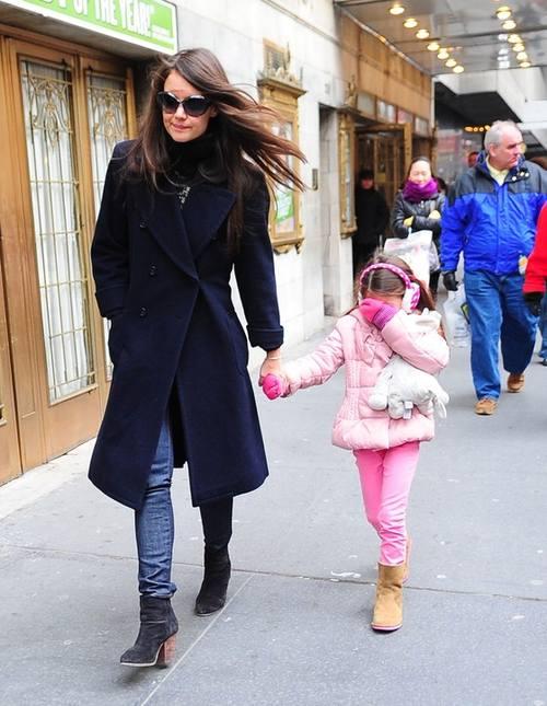 Кэти Холмс и Сури: модная мама и модная дочь