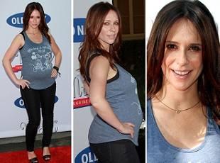 Дженнифер Лав Хьюитт выставляет беременный живот