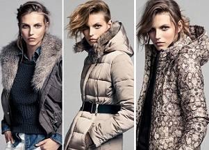 Карлина Цауне для зимних и осенних курток Mango