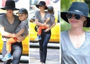Миранда Керр — модная мама с модным ребенком