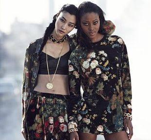 Зимняя коллекция одежды Рианны для River Island