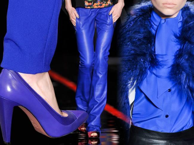 Модные цвета осенне-зимнего сезона - Синий