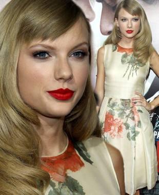 Тейлор Свифт в романтическом платье с цветами