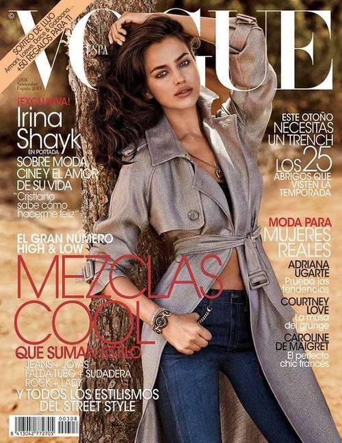 Кейт Мосс, Ирина Шейк и Карли Клосс на обложках Vogue