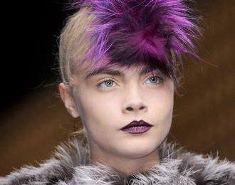 Цветные волосы на осень — зиму. Модные идеи