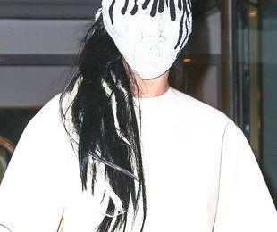 Леди Гага в маске Maison Martin Margiela