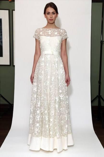 Оригинальные свадебные платья Temperley 2014-2015