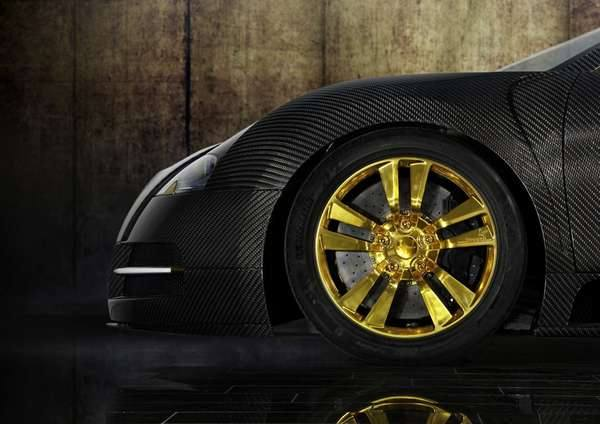 Золотая роскошь от Bugatti