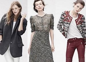 Йовович, Дуайон и Бела в кампании Isabel Marant для H&M