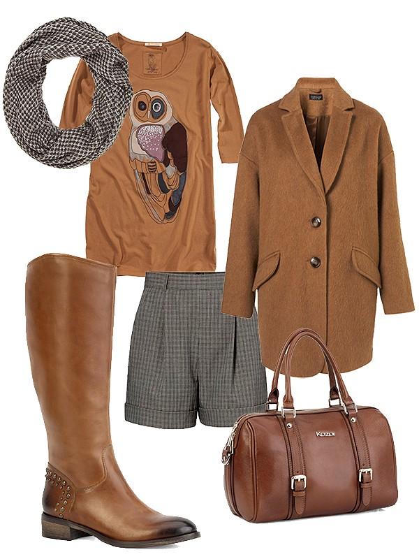Осенний взгляд на винтажную одежду