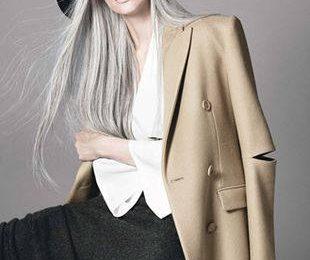 Мир захватывает мода на седые волосы. Модная седина