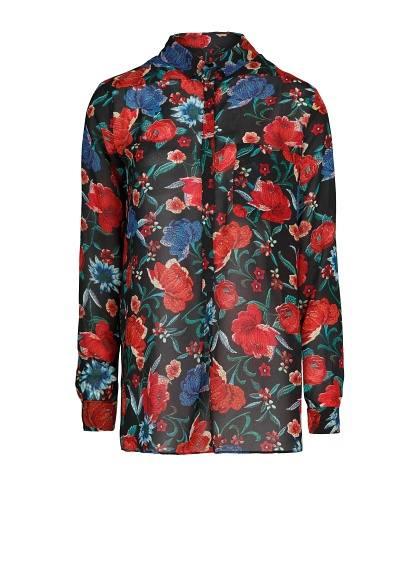 Mango обзор рубашек и блуз на осень-зиму