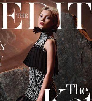 Кейт Мосс стала звездой нового номера The Edit