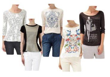 Reserved — обзор блузок и футболок на зимний сезон