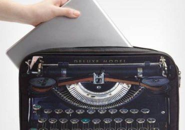 Сумка для ноутбука в стиле ретро
