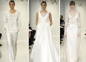 Необычные свадебные платья Theia White на осень-зиму