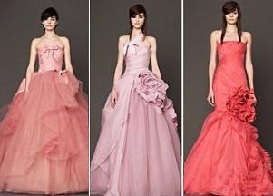 Свадебная коллекция Vera Wang на осень
