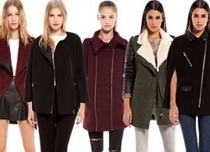 Bershka — обзор демисезонных пальто и курток