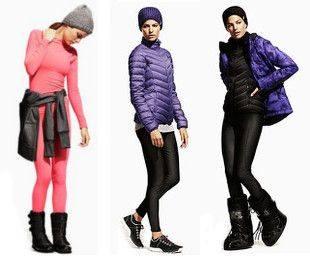Взгляд на зимний спорт от H&M