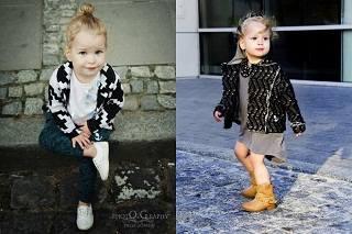 Детская мода: в роли модели 2-летняя Элис