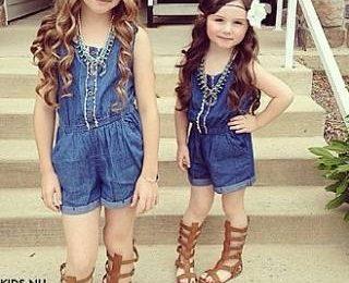 Модные дети и их «взрослые» стилизации