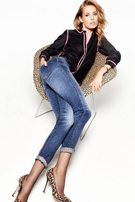 Надя Бендер в кампании Juicy Couture