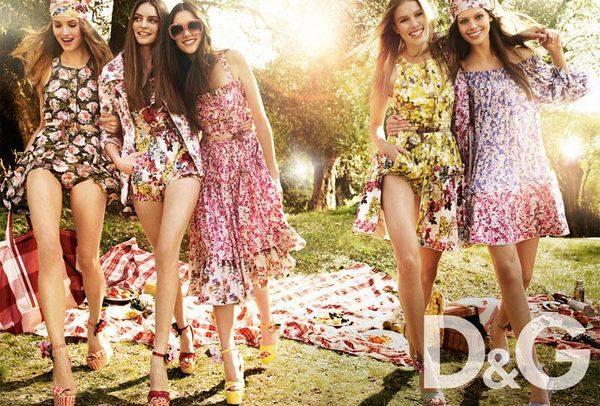Розы и другие цветы от D&G