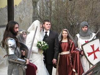 Организация свадьбы в средневековом стиле