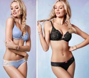 Сладкая и сексуальная Кэндис Свейнпол для Victoria`s Secret